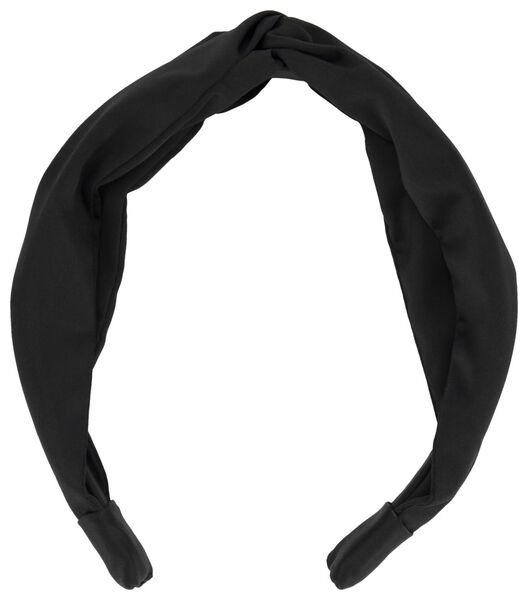 haarband zwart - 11800025 - HEMA