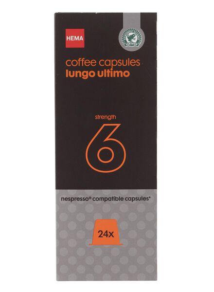 koffiecups lungo ultimo - 24 stuks - 17130009 - HEMA