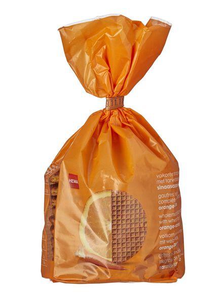 10-pak stroopwafels sinaasappel-wortel - 10800006 - HEMA