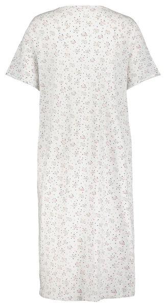 damesnachthemd bloemen lichtroze L/XL - 23400002 - HEMA