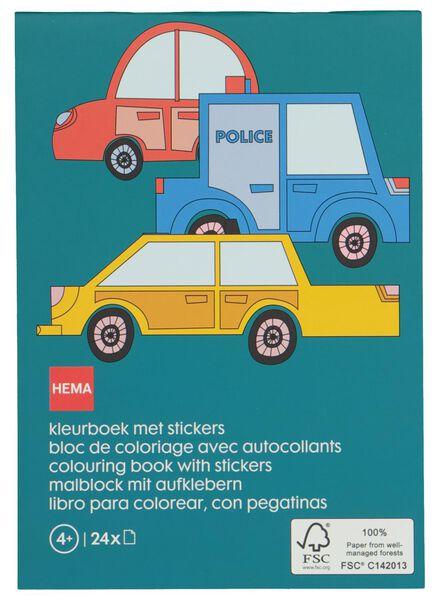kleurboek met stickers - 15920016 - HEMA