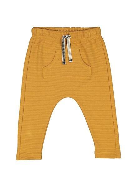 baby sweatbroek geel geel - 1000014374 - HEMA