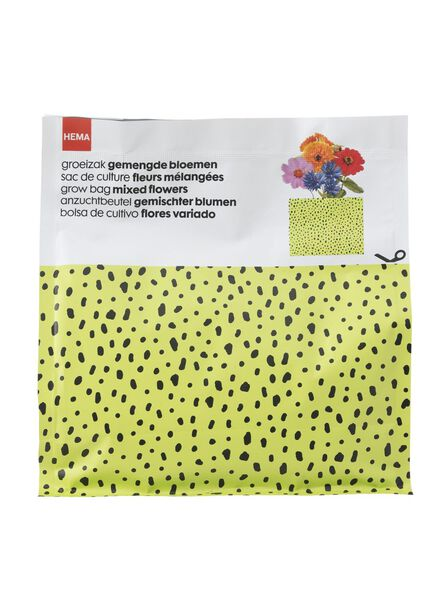 groeizak gemengde bloemen - 41800133 - HEMA