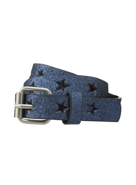 kinderriem blauw blauw - 1000011552 - HEMA