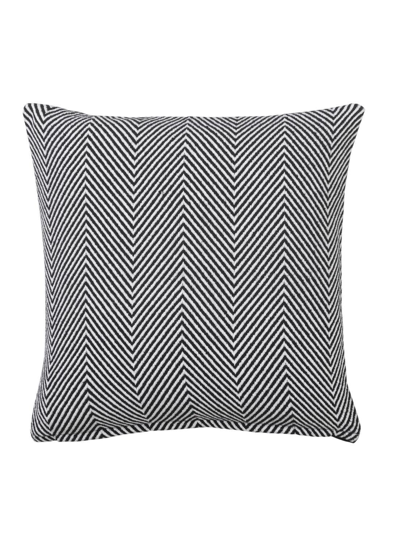 HEMA Kussenhoes 50 X 50 Cm (noir/blanc)