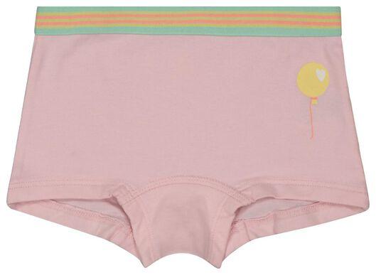 3-pak kinderboxers roze roze - 1000018021 - HEMA