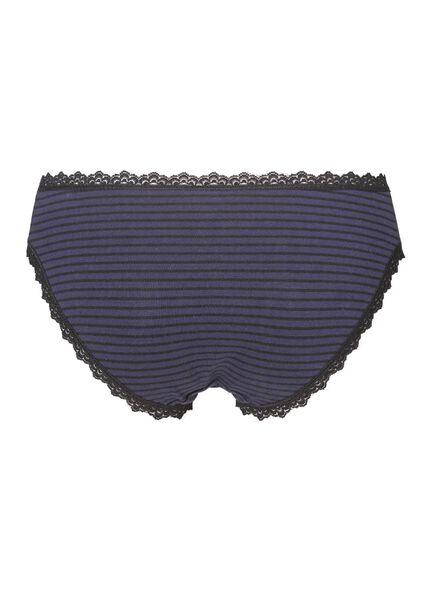 damesslip donkerblauw donkerblauw - 1000002283 - HEMA