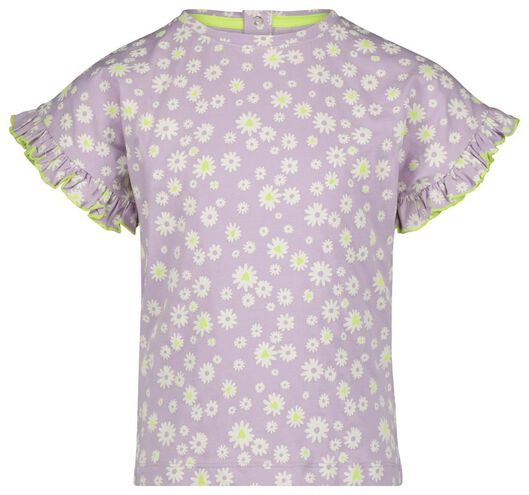 kinder t-shirt lila 86/92 - 30847634 - HEMA