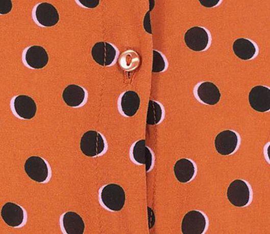 damesblouse oranje oranje - 1000018297 - HEMA