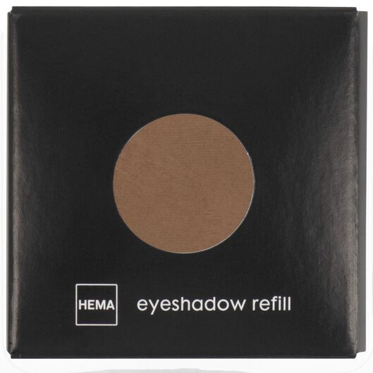 oogschaduw mono mat 03 beautiful brown bruin navulling - 11210303 - HEMA