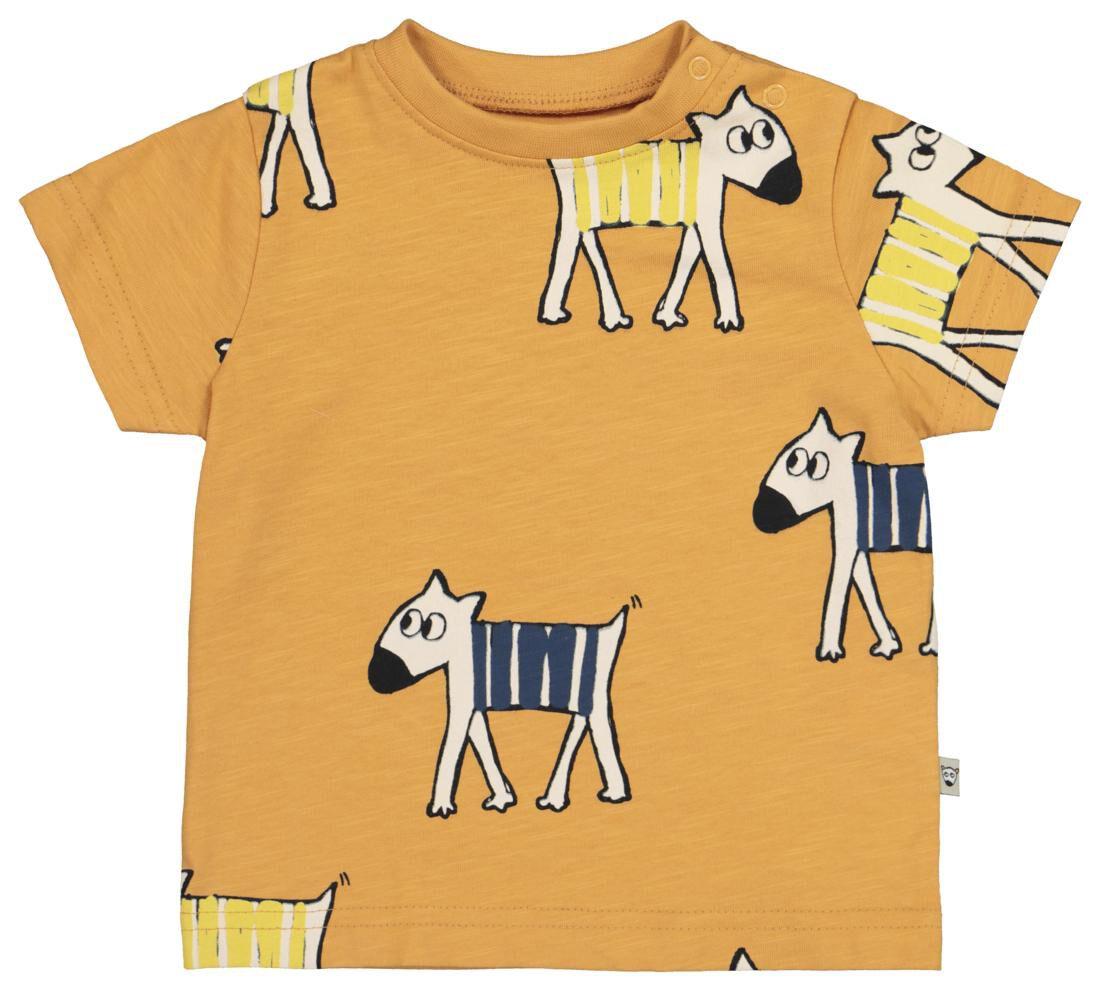 HEMA Baby T shirt Bruin (bruin)