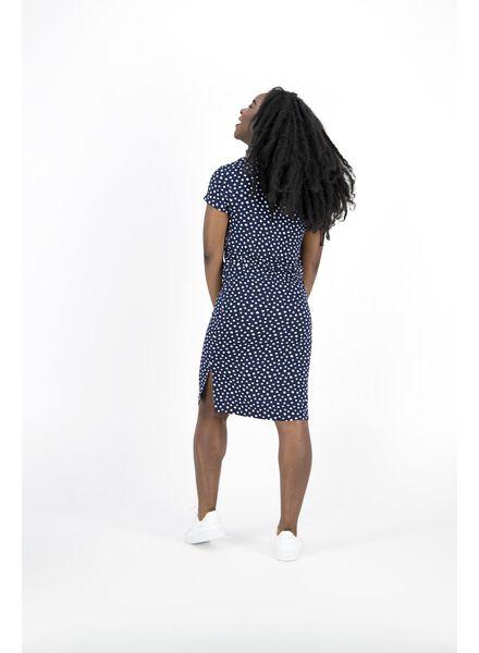 damesjurk donkerblauw donkerblauw - 1000014341 - HEMA
