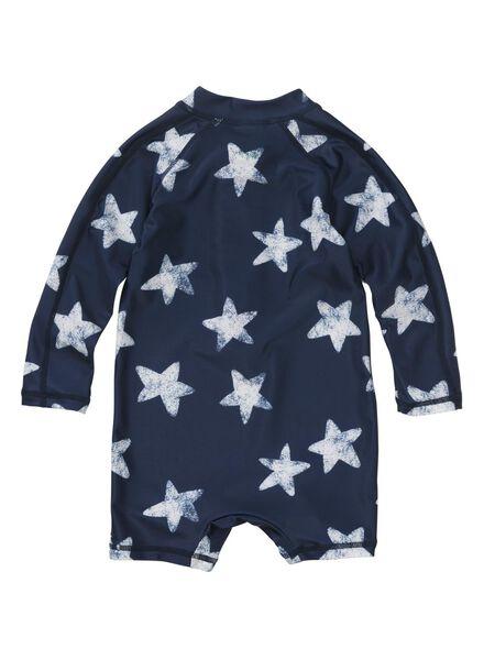 baby zwempak UV-beschermend donkerblauw donkerblauw - 1000011165 - HEMA