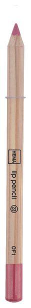lip pencil roze - 11230123 - HEMA