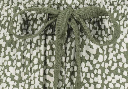 damesshort olijf olijf - 1000019350 - HEMA