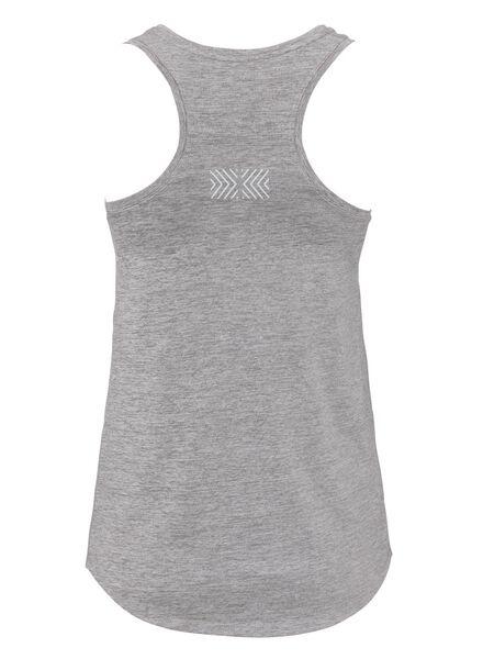 dames sporttop grijsmelange grijsmelange - 1000013451 - HEMA