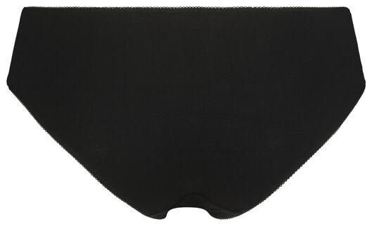 dameshipsters 3 stuks zwart zwart - 1000020853 - HEMA