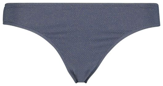dames bikinislip grijs XL - 22310994 - HEMA