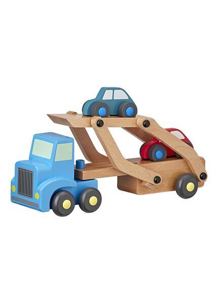 houten truck met auto's - 15122229 - HEMA