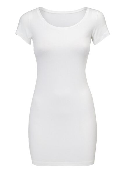 dames t-shirt wit wit - 1000005124 - HEMA