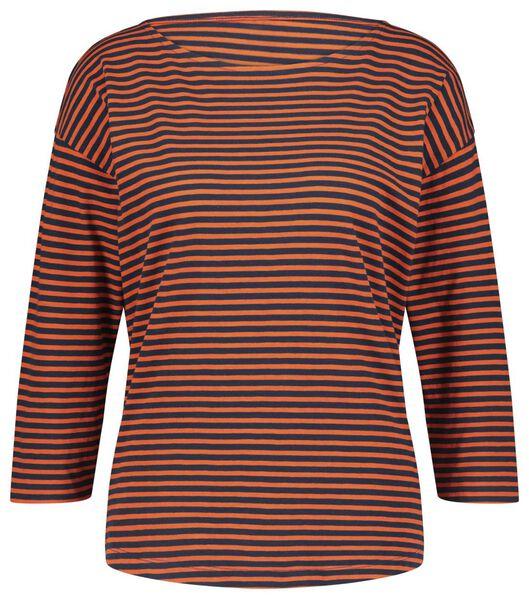 dames t-shirt rood rood - 1000018260 - HEMA