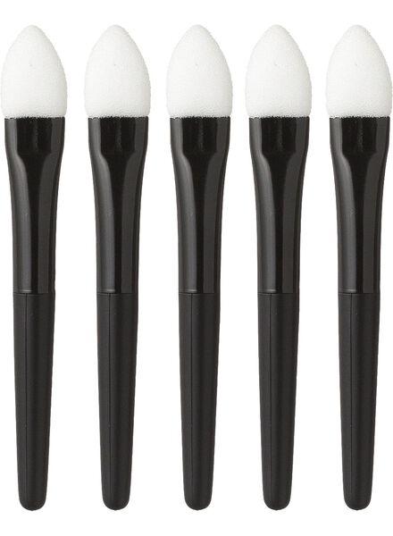 eyeshadow applicators (5pcs) - 11200525 - HEMA