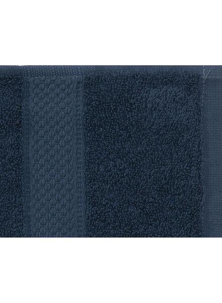 handdoek - 60 x 110 cm - zware kwaliteit - denim uni - 5240181 - HEMA