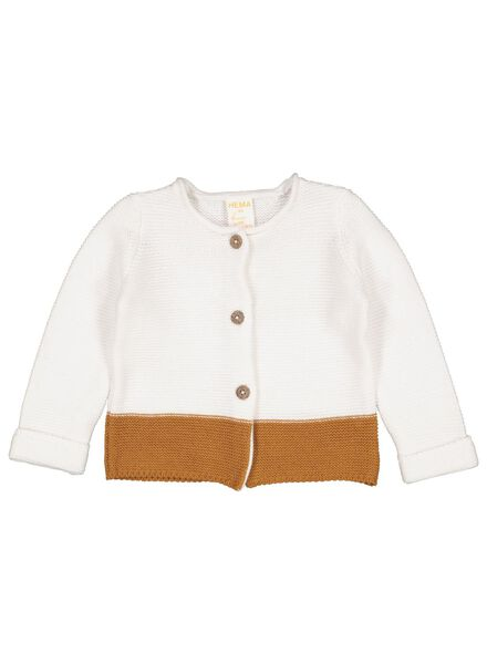 newborn vest bruin bruin - 1000015468 - HEMA