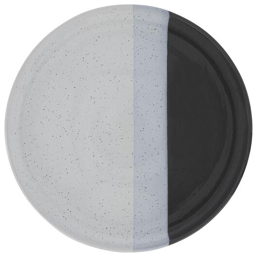 ontbijtbord - 20 cm - Cordoba - antraciet - 9602125 - HEMA