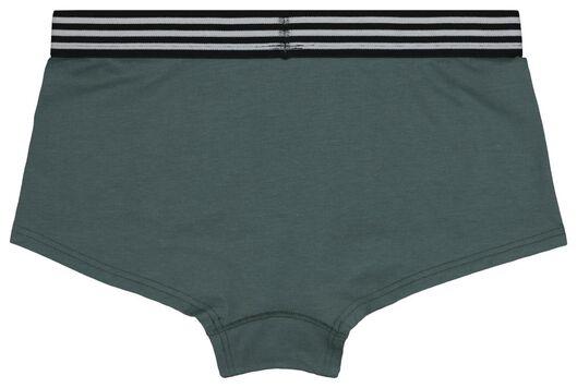 tienerboxer groen groen - 1000018603 - HEMA