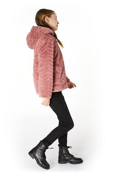 imitatiebont kinderjas roze roze - 1000020114 - HEMA