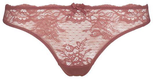 damesstring kant roze roze - 1000018668 - HEMA