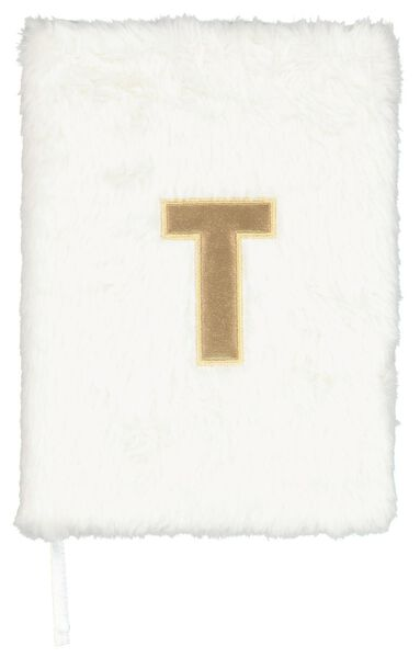 Notitieboek A5 fluffy letter T