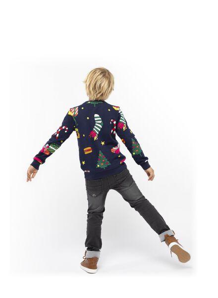 kindersweater DIY zwart zwart - 1000016959 - HEMA