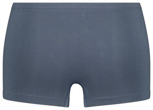 damesboxer naadloos micro middenblauw L - 19653783 - HEMA