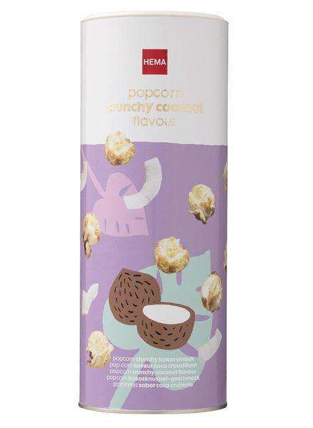 popcorn crunchy kokossmaak - 10620009 - HEMA