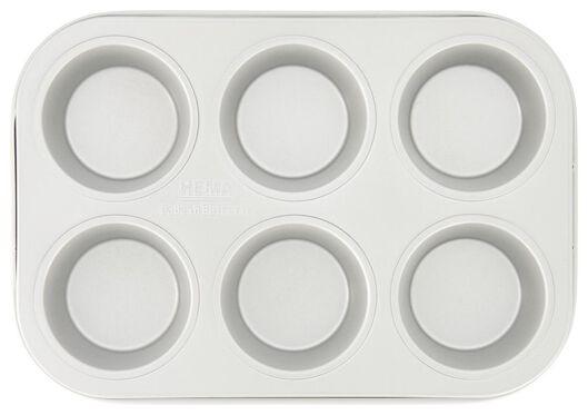 muffin bakvorm - 6 stuks - 80854211 - HEMA