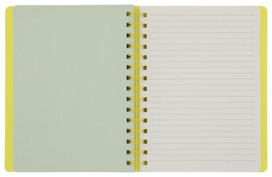 notitieboek met spiraal 20x15.5 - 14164658 - HEMA