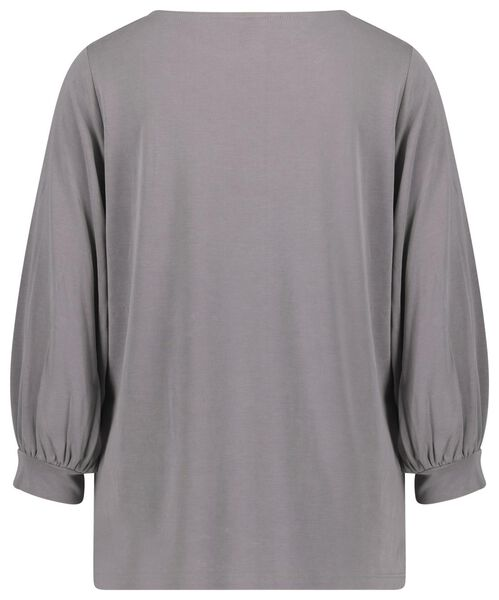 dames top grijs grijs - 1000022070 - HEMA