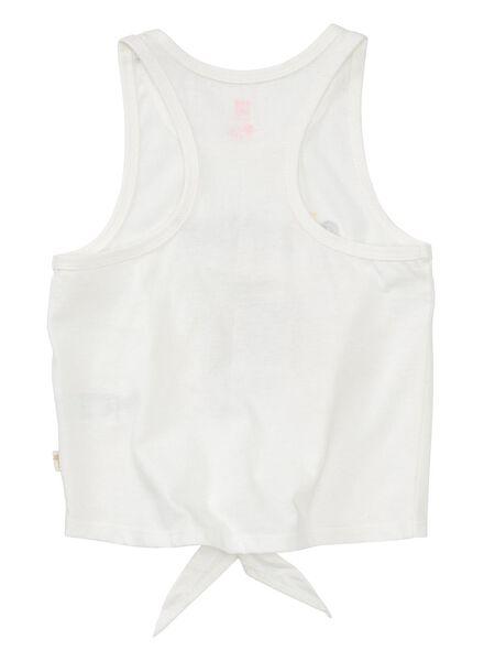 kindersinglet gebroken wit gebroken wit - 1000013419 - HEMA