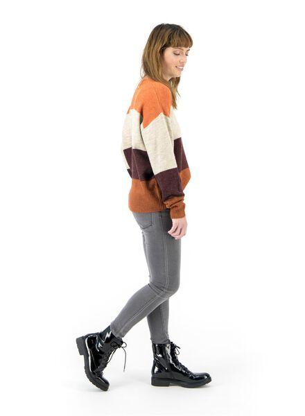 damessweater oranje oranje - 1000017119 - HEMA