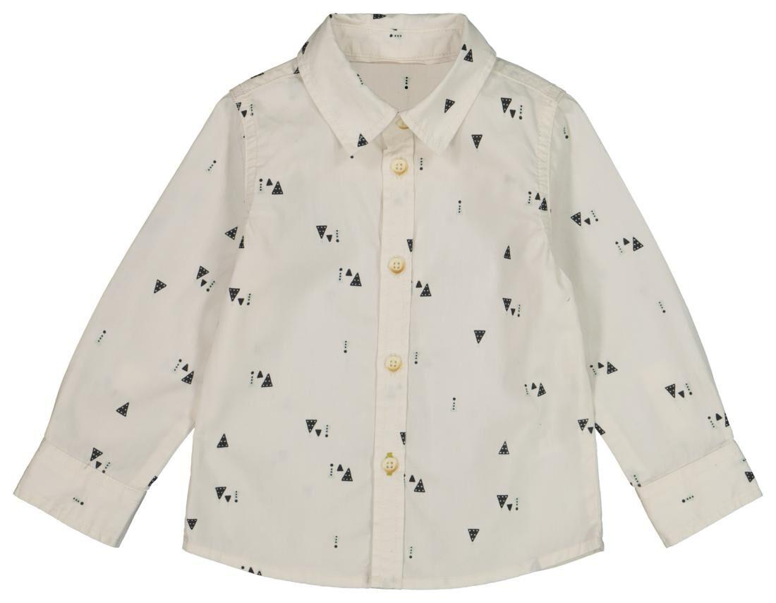 HEMA Baby Overhemd Gebroken Wit (gebroken wit)