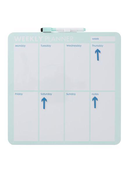 whiteboard weekplanner - 14670032 - HEMA