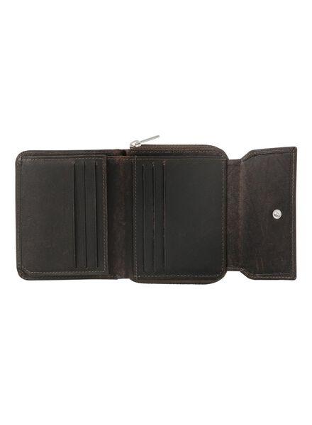 leren portemonnee - 18160030 - HEMA