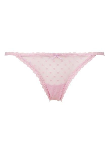 damesslip roze roze - 1000006589 - HEMA