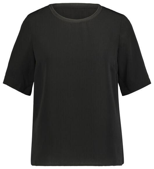 dames top zwart zwart - 1000020964 - HEMA