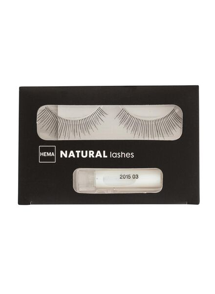 wimpers natural - 11219005 - HEMA