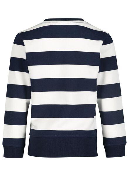 kindersweater donkerblauw donkerblauw - 1000015596 - HEMA