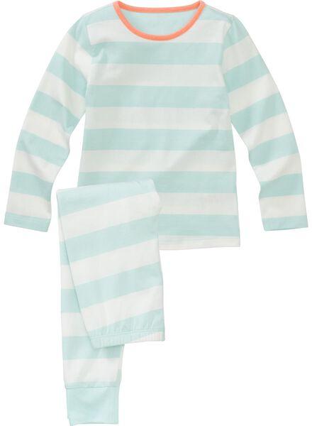 meisjes pyjama lichtblauw lichtblauw - 1000002827 - HEMA