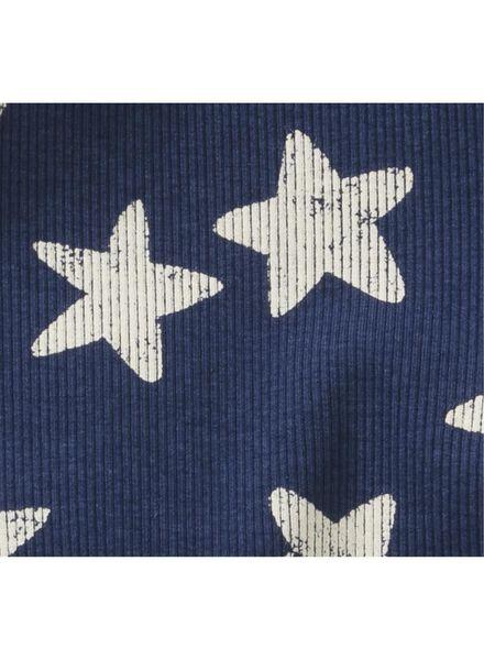 romper bamboe stretch donkerblauw donkerblauw - 1000013220 - HEMA